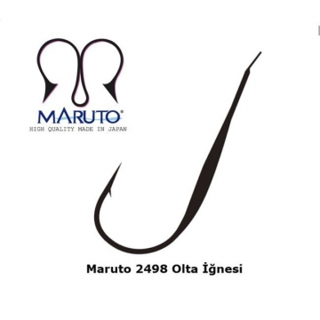 Maruto 2498 Nickel Japon Olta İğnesi